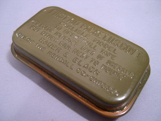 Original WWII US GI Carlisle Bandage, OD Green