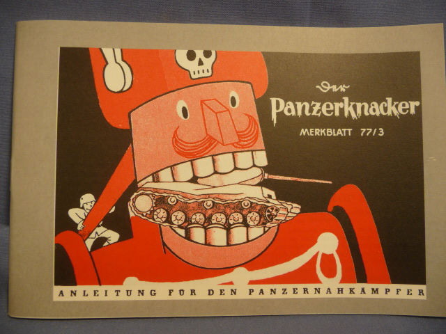 REPRINT - WWII German Panzerknacker Manual