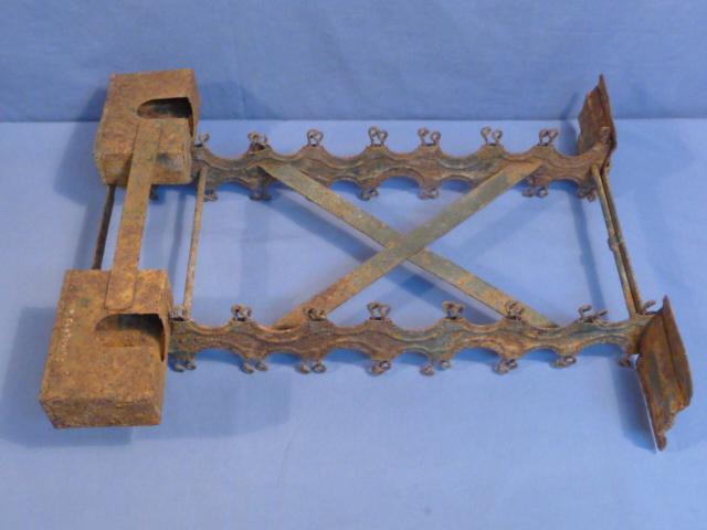 Bunker Militaria: Original WWII German Stick Grenade Carry Case Rack