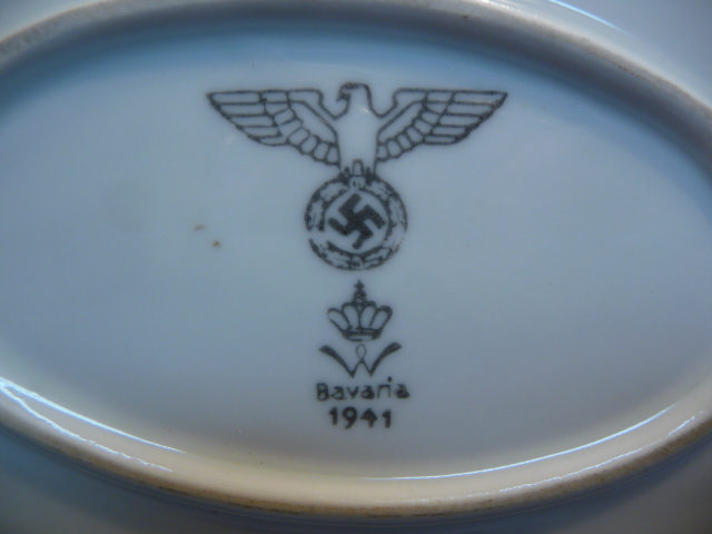 Bunker Militaria: China and Silverware