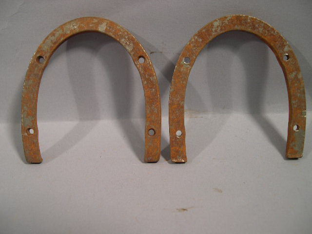 Original WWII German Boot Heel Irons, Pair - Size 5L