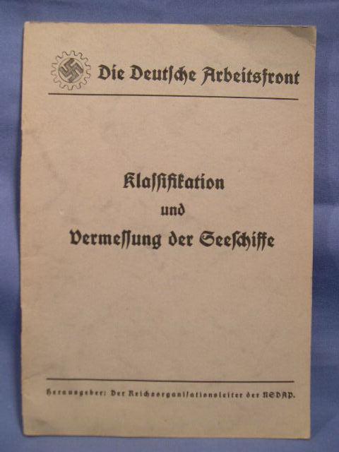 Kriegsmarine Related Items