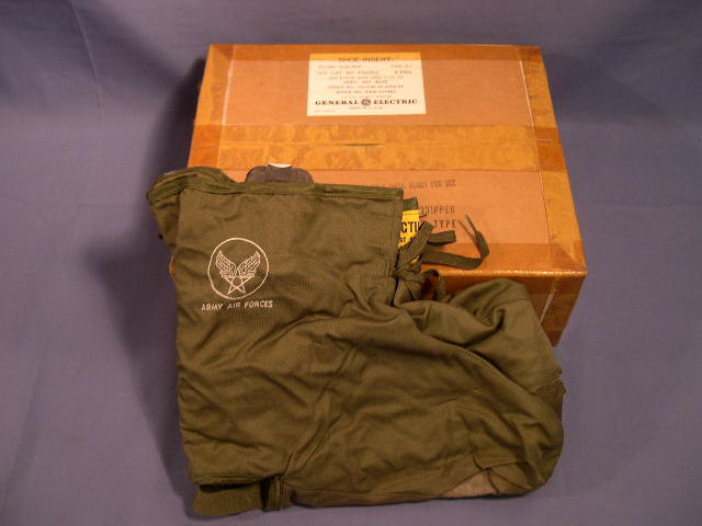 Original WWII US GI Air Force Electric Shoe Inserts, BOX OF 5 Pair