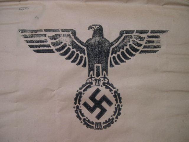 RARE! Original WWII German Large Paper Ration Bag, UNUSED!