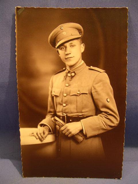 Original Soldier Portrait Photograph