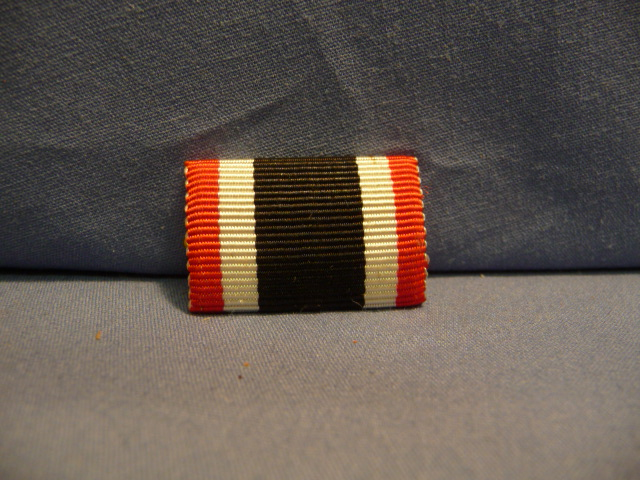 Original WWII German War Merit Cross 2nd Class Ribbon Bar – UNISSUED