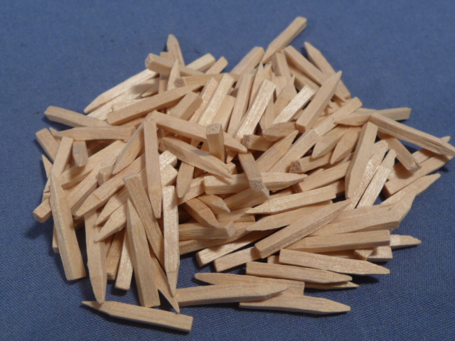 Original WWII German Wood Pegs for Boots