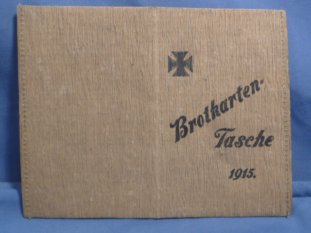 Original WWI German Holder for Bread Ration Cards