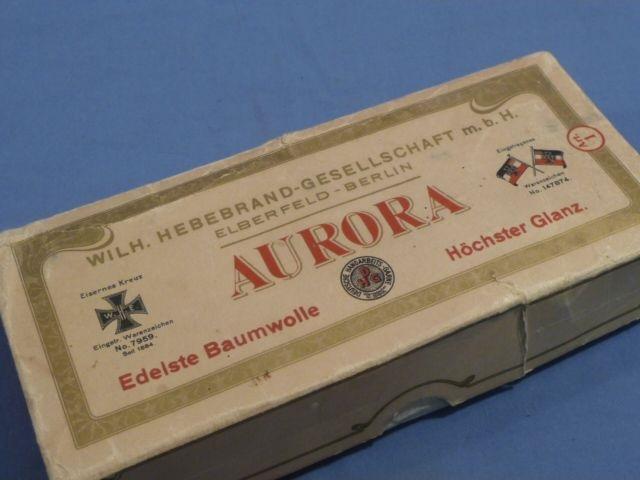 Original WWI German Iron Cross Thread
