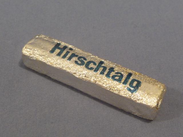 Original WWII Era German Cake of Foot Callus Softener, Hirschtalg