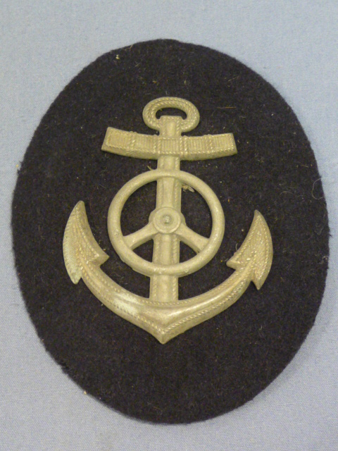 Original WWII German Navy Motor Transport NCO Career Sleeve Insignia