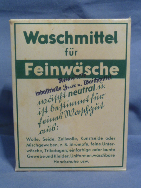 Original WWII German Laundry Detergent (for UNIFORMS), 40 Liter Size