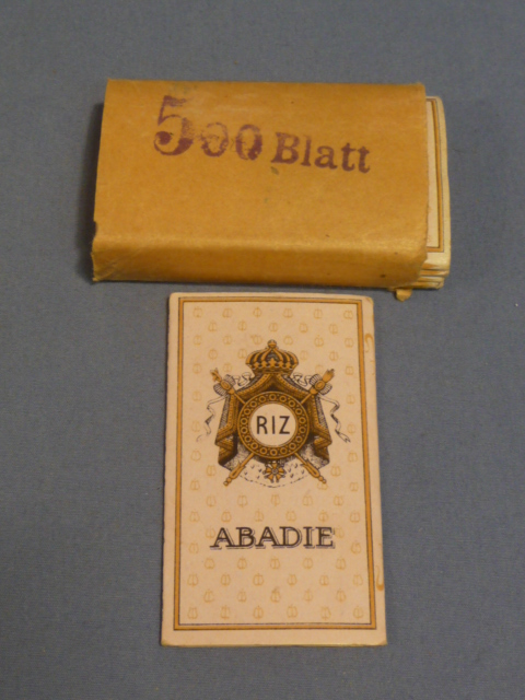 Original WWII Era German Cigarette Rolling Papers, 6 PACKS!!!