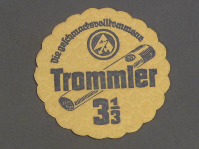 Original Nazi Era German SA Beer Stein Coaster