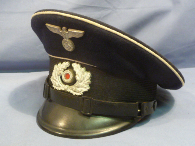 Original Pre-WWII German Army Veterans Association Visor Cap