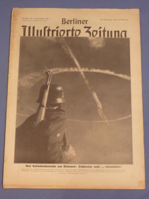 Original WWII German Magazine, Berliner Illustrierte Zeitung