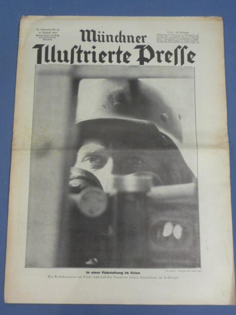 Original WWII German Magazine, Münchner Illustrierte Presse
