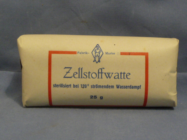 Original WWII Era German Cellulose Cotton Bandage