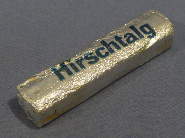 Original WWII Era German Cake of Foot Callus Softener, Hirschtalg