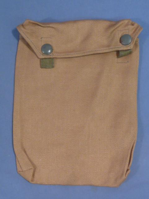 Original WWII German Tropical Gas Sheet Bag - UNISSUED!