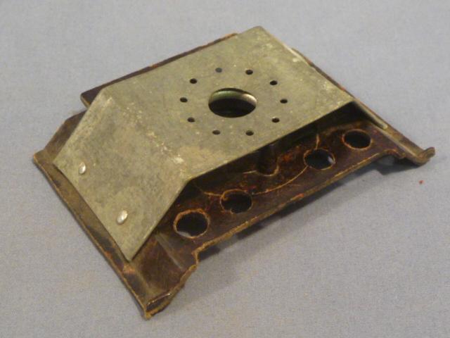 Original WWII German Candle Adapter for Carbide Lantern