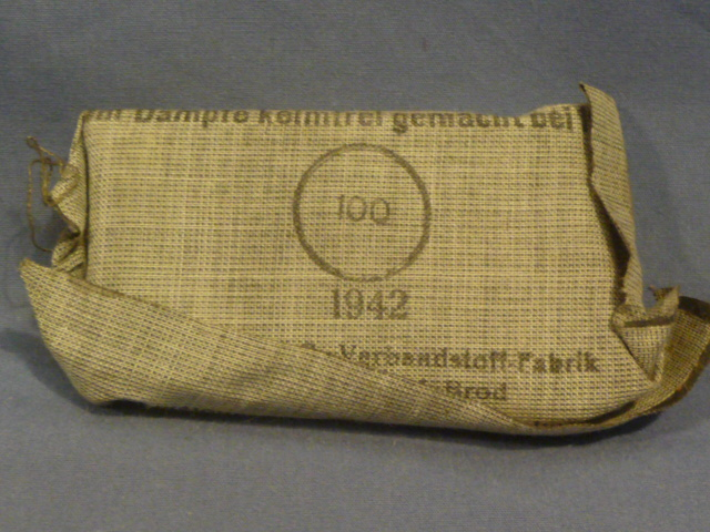Original WWII German Soldier�s 1st Aid Bandage, Small