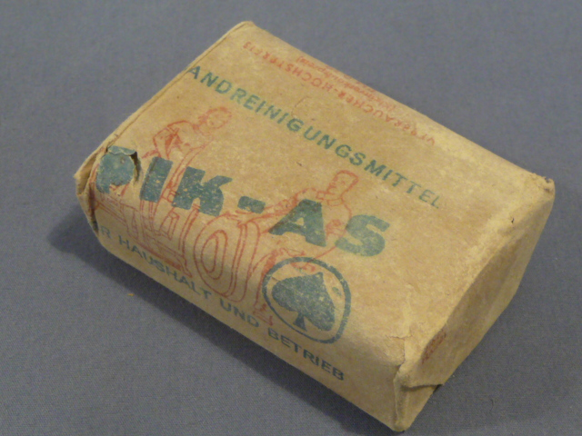 Original WWII German PIK-AS Brand Soap, RM Priced!