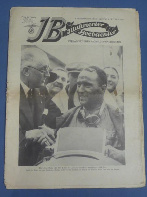 Original WWII German Newspaper, Illustrierter Beobachter