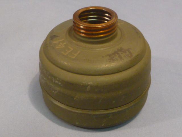 Original WWII German Gas Mask Filter, FE41