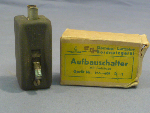 Original WWII German Aircraft Switch