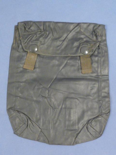Original WWII German Rubberized Gas Sheet Bag, UNISSUED!