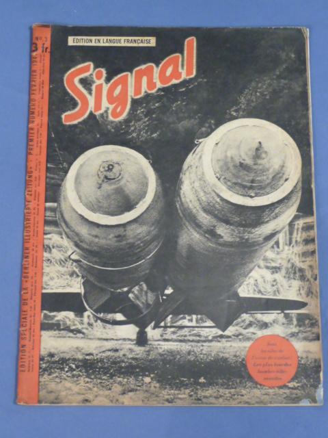 "Original WWII German ""Signal"" Magazine (French Language), 1941"