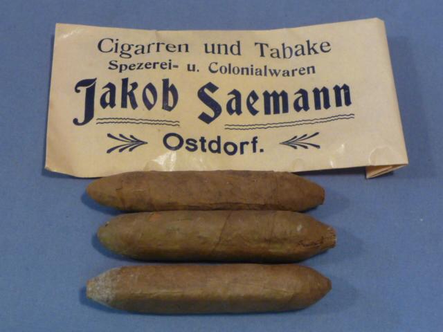 Original WWII Era German Jakob Saemann Cigars