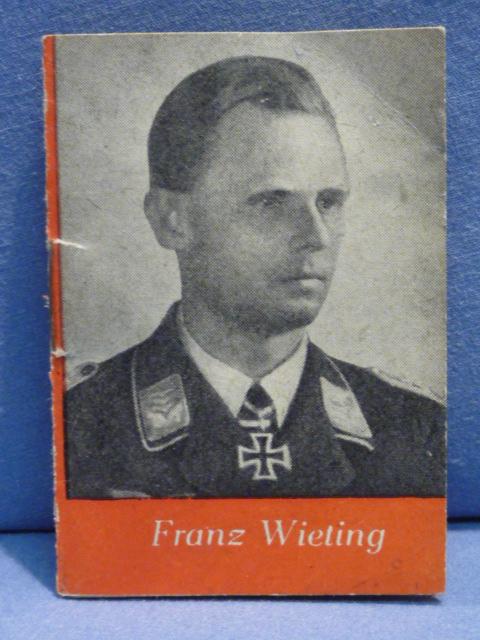 Original WWII German WHW Donation Booklet, Franz Wieting