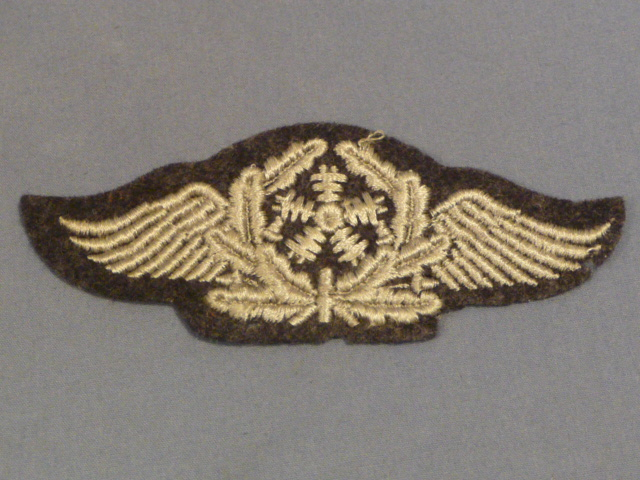 Original WWII German LW Flight Technical Personnel's Trade Badge