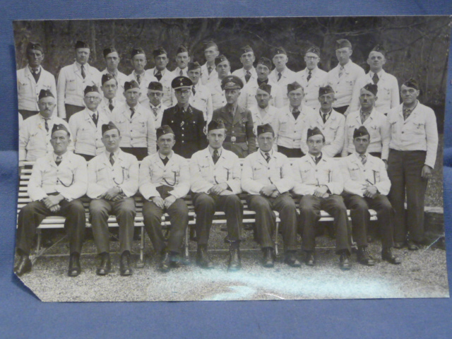 Original WWII German Photograph, GROUP PHOTO