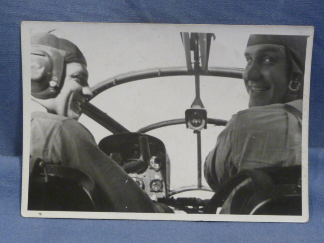 Original WWII German Photograph, PILOTS!