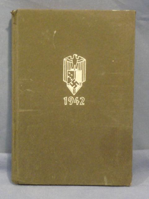 Original WWII German 1942 Colonial Pocket Calendar Book