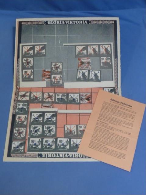 Original WWII German Board Game �GLORIA-VIKTORIA�
