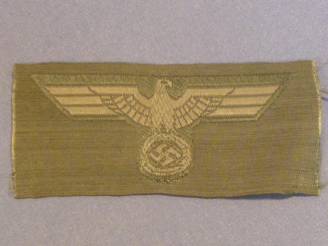 Original WWII German Army Overseas Cap Eagle, UNUSED