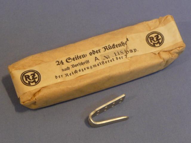 Original Nazi Ear German Sealed Pack of RZM Marked Belt Ramps
