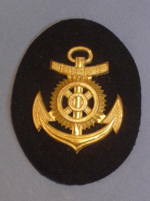 Original WWII German Navy Engine NCO Career Sleeve Insignia