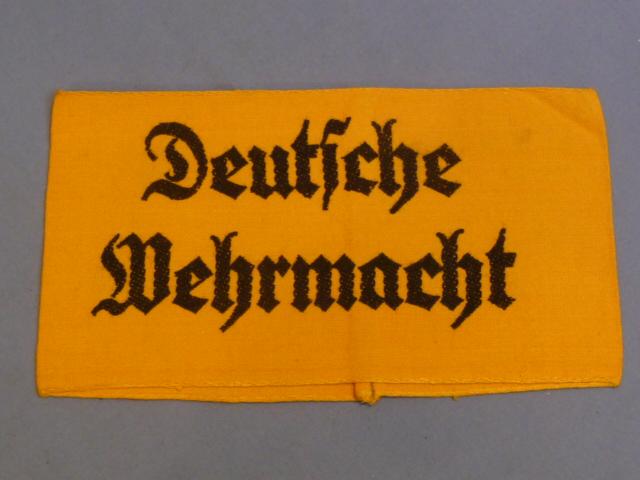 Original WWII German Deutscher Wehrmacht Arm Band