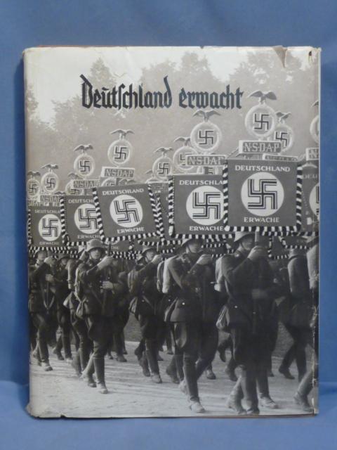 Original 1933 German Cigarette Card Book, Deutschland erwacht