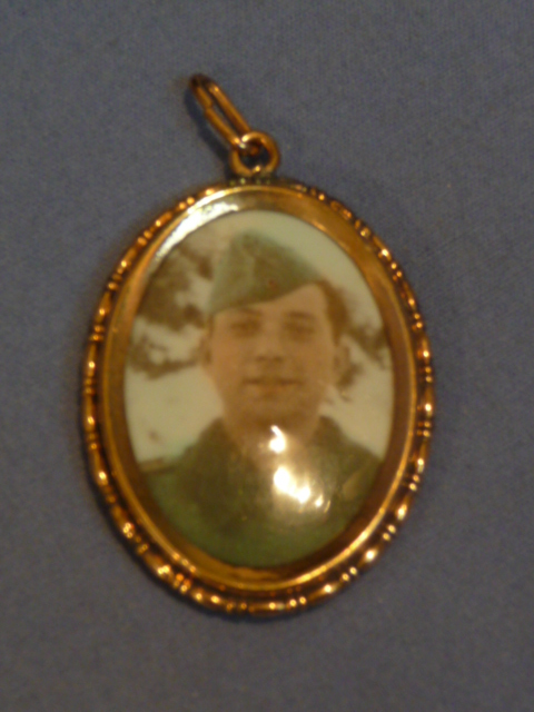 Original WWII German Soldier Photo Locket