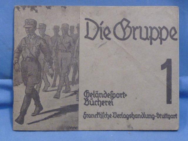 Original 1934 German Pocket Book, Die Gruppe