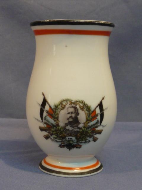 Original WWI German von Hindenburg Decorative Fancy Cup