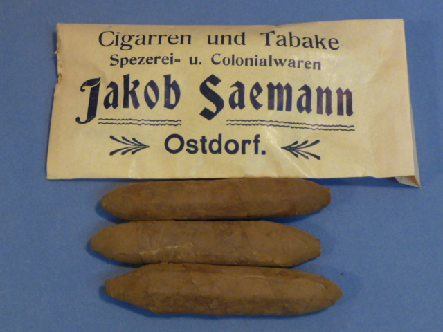 Original WWII Era German Jakob Saemann Cigars