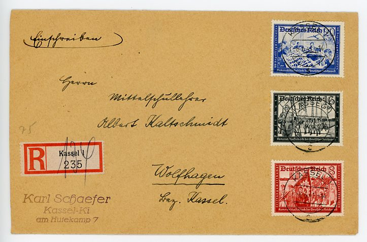 Original WWII German Envelope