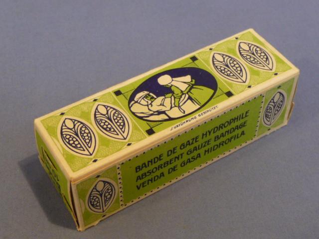 Original WWII Era German Medical Item, Hydrophilic Bandage